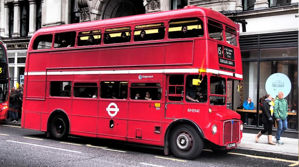 Bild Englischer Bus
