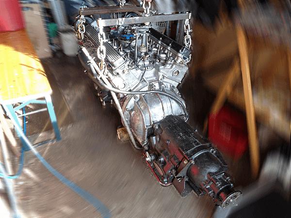 Bild Jaguar Motor fertig