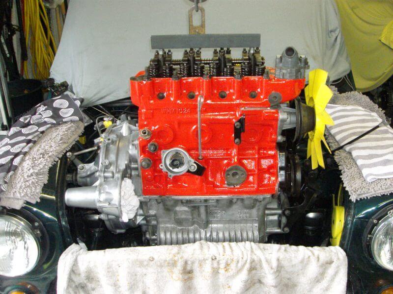 Motor muss ausgebaut werden