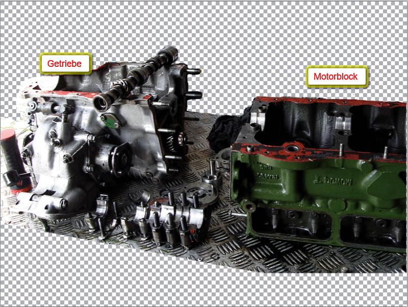 Bild Motor-Getriebe